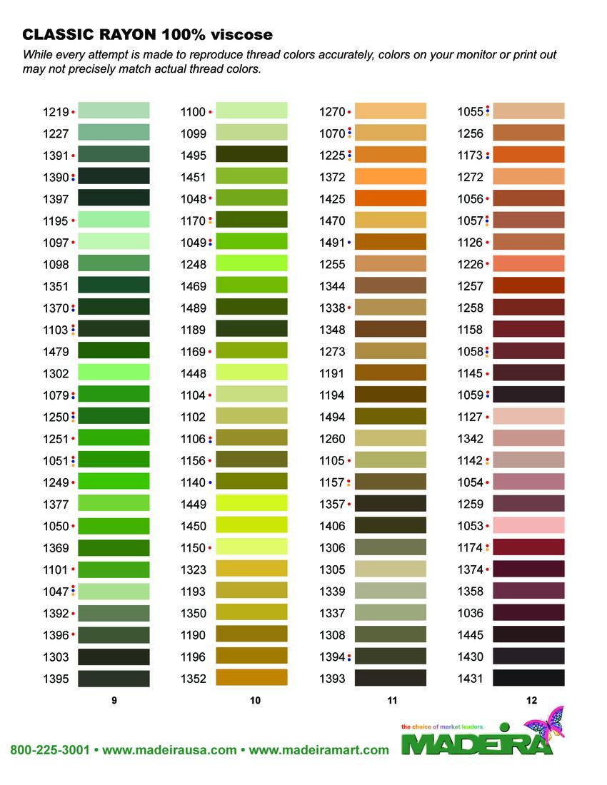 Madeira Classic Kleurenkaart 2015 - pagina 3