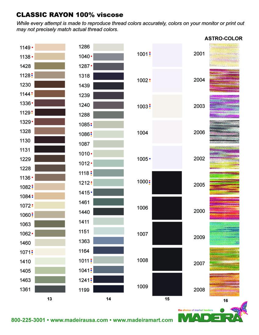 Madeira Classic Kleurenkaart 2015 - pagina 4
