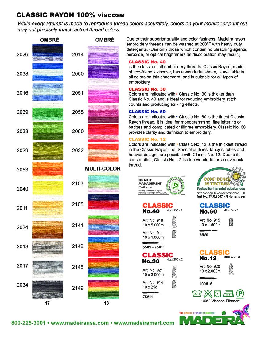 Madeira Classic Kleurenkaart 2015 - pagina 5