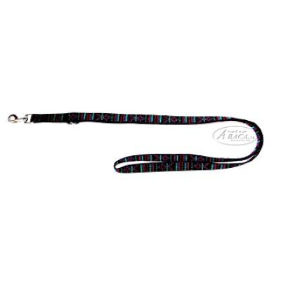 Nylon lijn 2-voudig verstelbaar - 25 mm br. - 2 meter lang - indian black