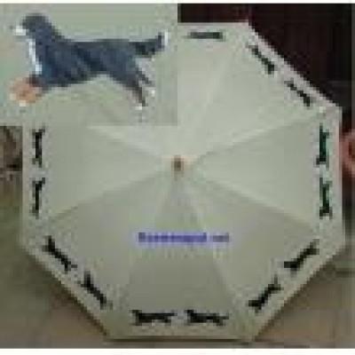 Paraplu Berner - Met opdruk langs de rand
