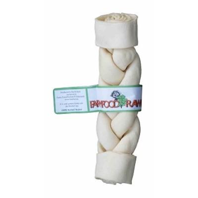 Farm Food Rawhide - Dental Braided Stick