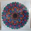 Wenskaart met handgetekende mandala