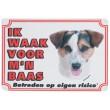 Waakbord Jack Russell Terrier & Parson Russell Terrier