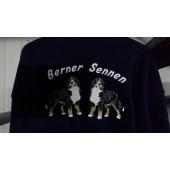 Fleece vest - Navy - XXL - Berner Sennenhond EMB003