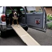 Dogstep hondenloopplank - Uitklapbaar 90 of 180 cm, beige