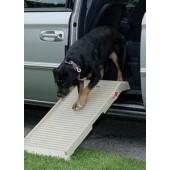 Halfstep hondenloopplank - Vaste lengte 90 cm, beige