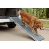 PetRamp DeLuxe hondenloopplank - Uitschuifbaar 46 * 110-175 cm, grijs
