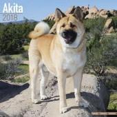 Kalender Akita 2018 - Avonside Publishing - voorblad