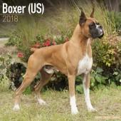 Kalender Boxer (US) 2018 - Avonside Publishing - voorblad