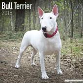 Kalender Bull Terrier 2018 - Avonside Publishing - voorblad