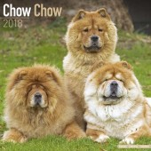 Kalender Chow Chow 2018 - Avonside Publishing - voorblad