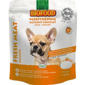 Biofood Vleesvoeding - Zalm - zakje 7x90 gram