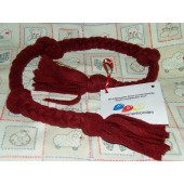Fleece speeltje - 3-vlecht - plat