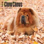 Kalender Chow Chow 2018 - BrownTrout - voorblad