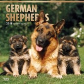 Kalender Duitse Herdershond 2018 - BrownTrout - voorblad