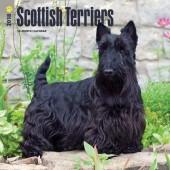 Kalender Schotse Terrier 2018 - BrownTrout - voorblad