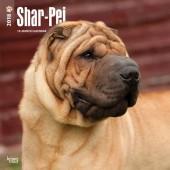 Kalender Shar-Pei 2018 - BrownTrout - voorblad