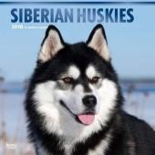 Kalender Siberian Husky 2018 - BrownTrout - voorblad