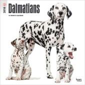 Kalender Dalmatische Hond 2018 - BrownTrout - voorblad