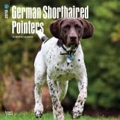Kalender Duitse Staande Hond Korthaar 2018 - BrownTrout - voorblad