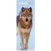 Slimline kalender Wolves 2012