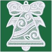 Kerstornament - Kerstklok (FSL)