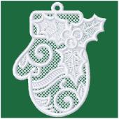 Kerstornament - Kersthandschoen (FSL)