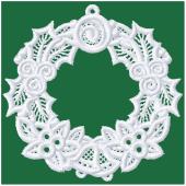 Kerstornament - Kerstkrans (FSL)