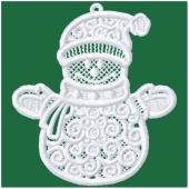 Kerstornament - Sneeuwpop (FSL)