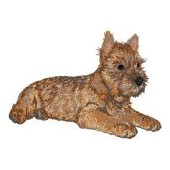 Borduurapplicatie Cairn Terrier EMB002 - variant 1