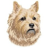 Borduurapplicatie Cairn Terrier EMB003 - variant 1