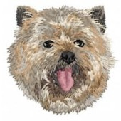 Borduurapplicatie Cairn Terrier EMB005 - variant 1