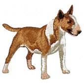 Borduurapplicatie Bull Terrier EMB005 - rechts kijkend