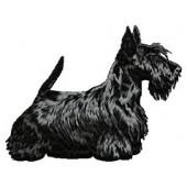 Borduurapplicatie Schotse Terrier EMB002 - rechts kijkend