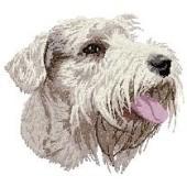 Borduurapplicatie Sealyham Terrier EMB001 - rechts kijkend