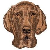Borduurapplicatie Duitse Staande Hond - Korthaar EMB003 - rechts kijkend