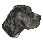 Borduurapplicatie Duitse Staande Hond - Korthaar EMB004 - rechts kijkend