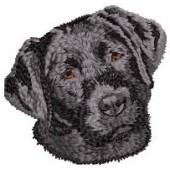 Borduurapplicatie Labrador Retriever EMB009 - rechts kijkend