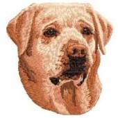 Borduurapplicatie Labrador Retriever EMB010 - rechts kijkend