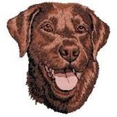 Borduurapplicatie Labrador Retriever EMB011 - rechts kijkend