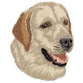 Borduurapplicatie Labrador Retriever EMB014 - rechts kijkend