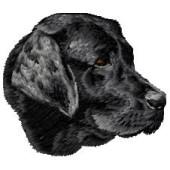 Borduurapplicatie Labrador Retriever EMB016 - rechts kijkend