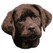 Borduurapplicatie Labrador Retriever EMB018 - rechts kijkend