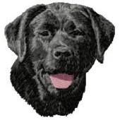 Borduurapplicatie Labrador Retriever EMB019 - rechts kijkend