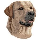Borduurapplicatie Labrador Retriever EMB021 - rechts kijkend
