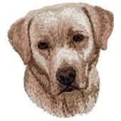 Borduurapplicatie Labrador Retriever EMB024 - rechts kijkend