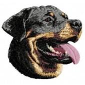 Borduurapplicatie Rottweiler EMB010 - variant 1