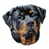 Borduurapplicatie Rottweiler EMB011 - variant 1