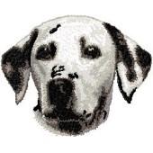 Borduurapplicatie Dalmatische Hond EMB001 - variant 1